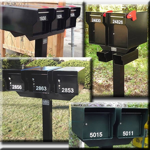 Matching Steel T Post Fort Knox Mailbox Llc