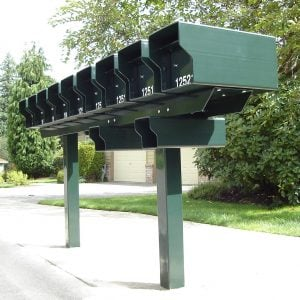 Steel Posts and Racks